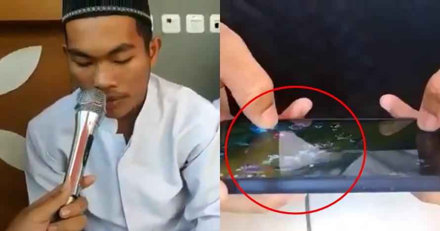 Viral! Bermain Game Sambil Hapalan Al Quran