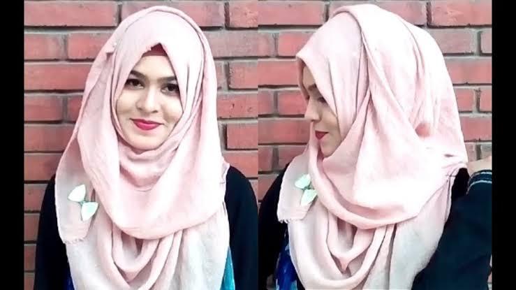 Hijab Untuk Wajah Oval, Ini Tipsnya Untuk Kamu